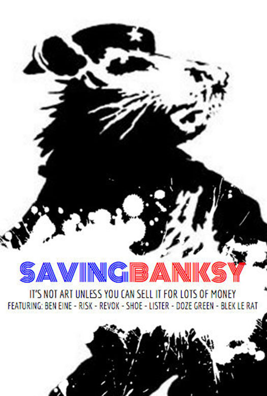 Saving Bansky  @ Bagels - 7:30pm