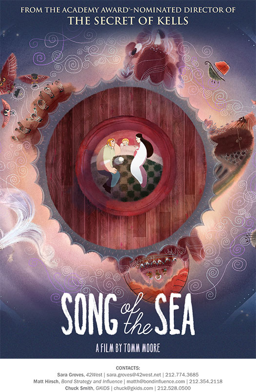 Song Of The Sea @ La Casa | Sat 2/27 - 12:00pm