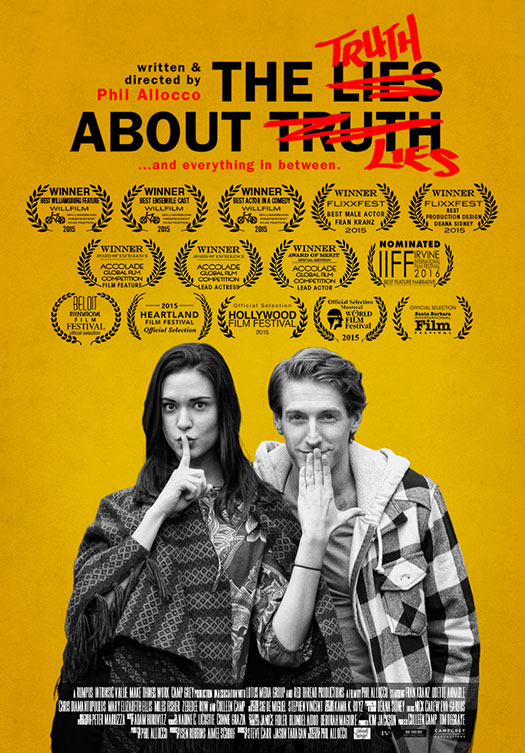 The Truth About Lies @ Hendricks | Tue 2/23 - 7:30pm