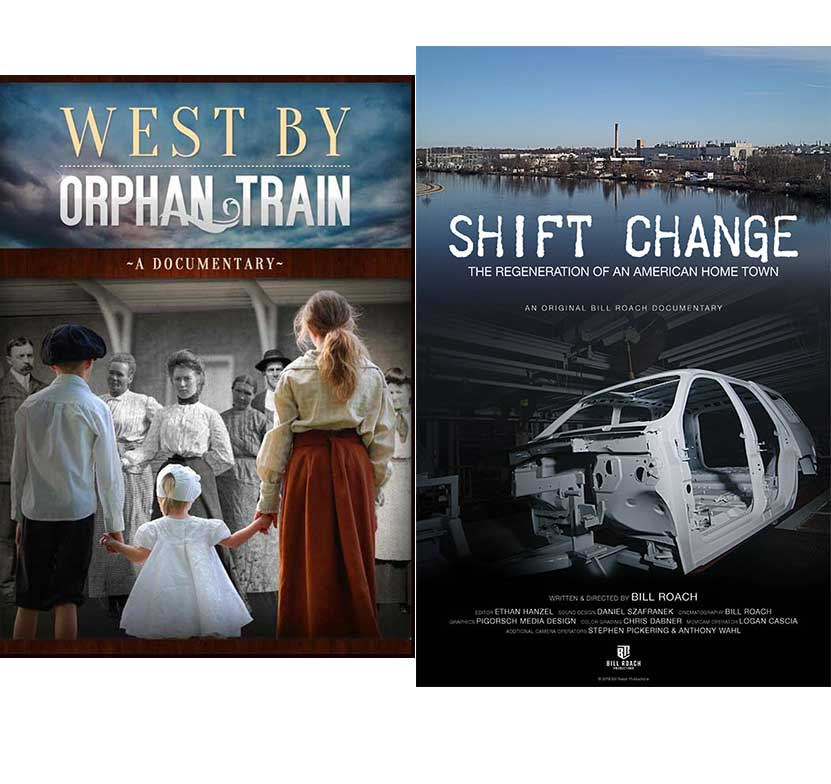 WEST BY ORPHAN TRAIN & SHIFT CHANGE