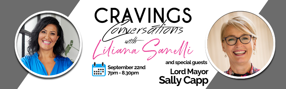 Cravings Conversations: Sally Capp - SOLD OUT