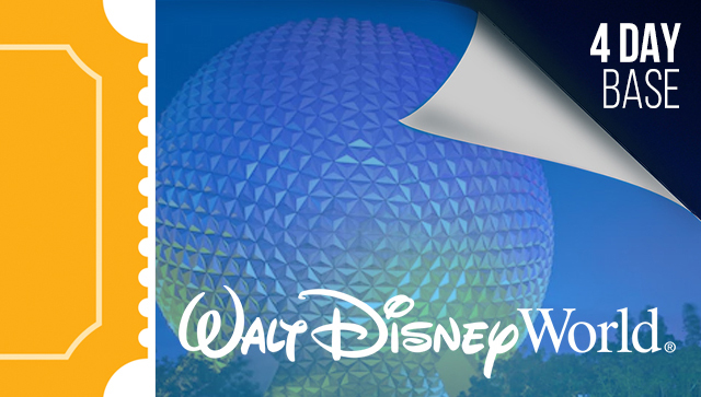 4 Day Disney Tickets