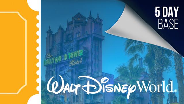 5 Day Disney Tickets - 2021