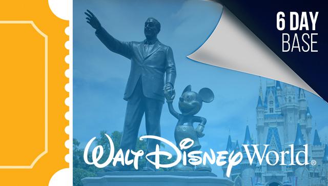 6 Day Disney Tickets - 2021