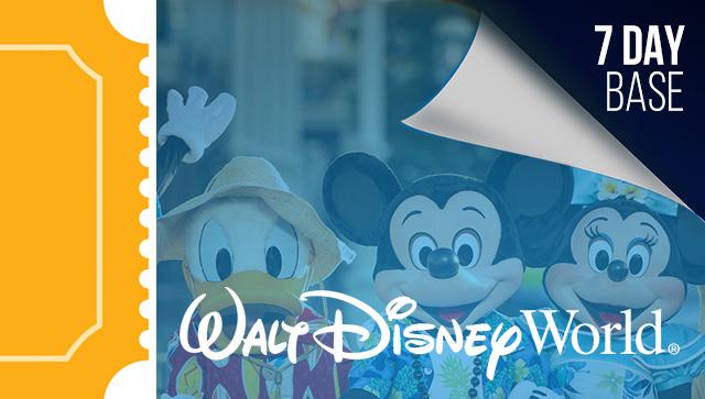 7 Day Disney Tickets - 2021