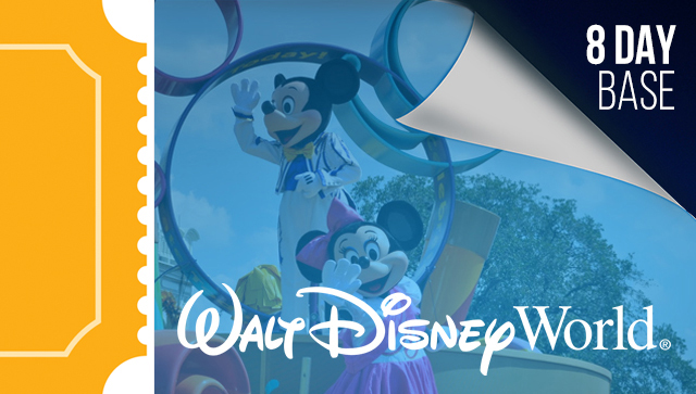 8 Day Disney Tickets