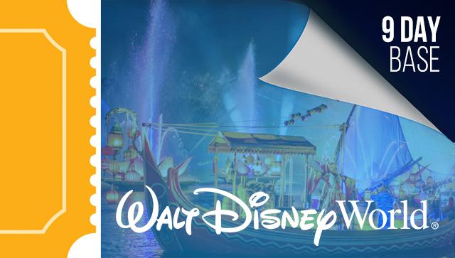 9 Day Disney Tickets - 2021