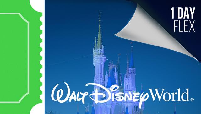 1 Day Disney Flexible Date Tickets