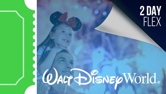 2 Day Disney Flexible Date Tickets