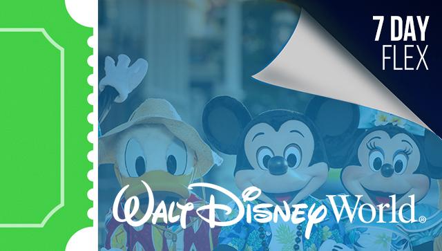 7 Day Disney Flexible Date Ticket