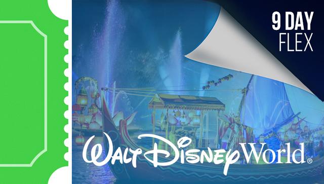 9 Day Disney Flexible Date Ticket
