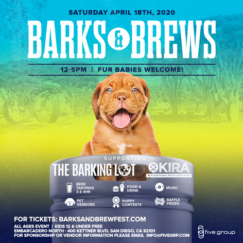 Barks & Brews Fest Summer 2020: A Family Friendly Beer & Dog Festival!