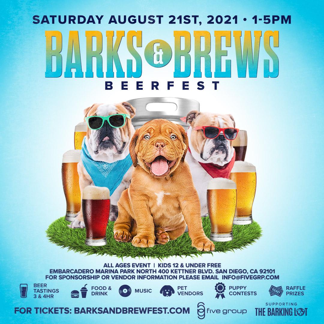 Barks & Brews Festival 2021