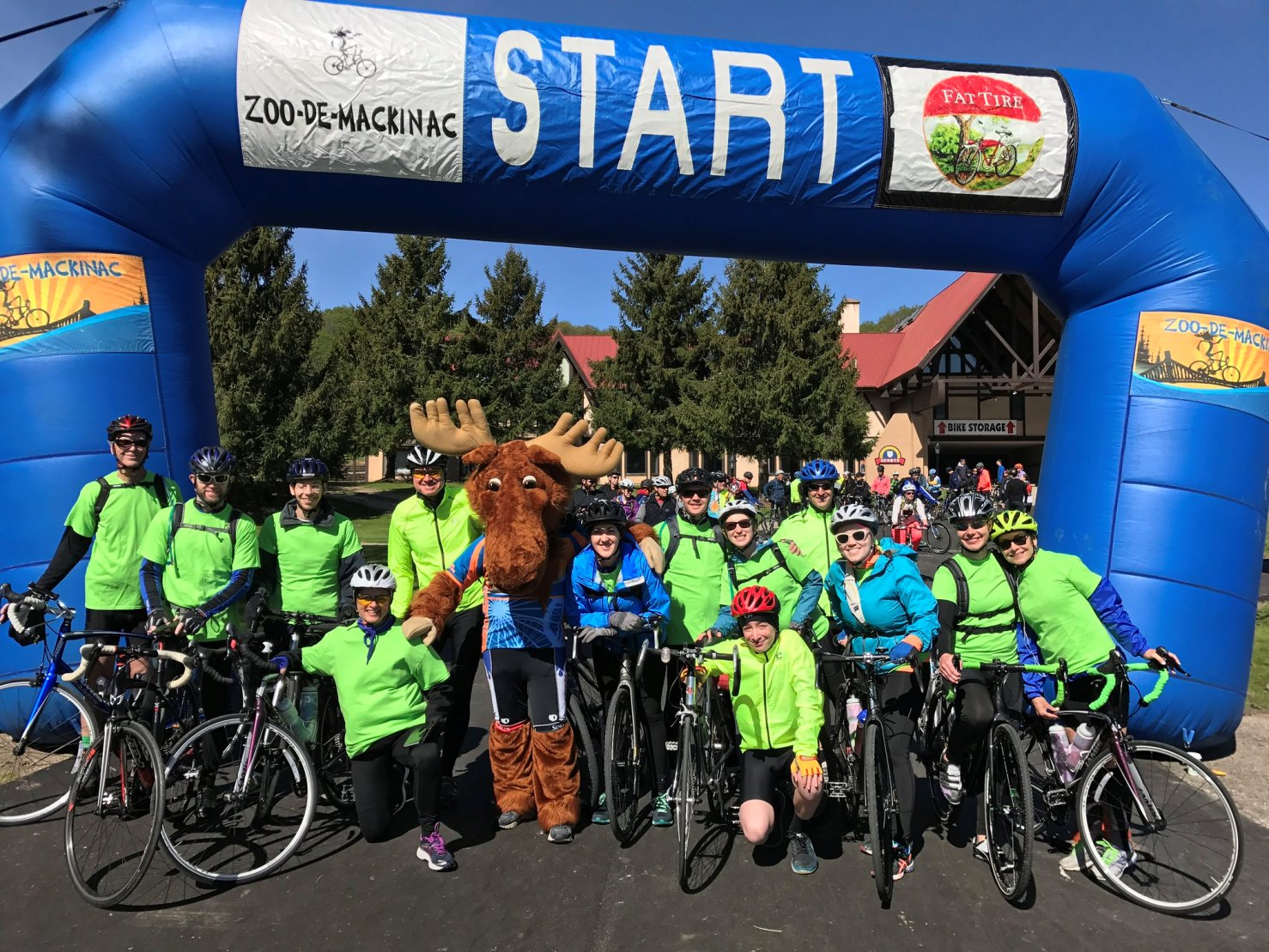 31st Annual Zoo-de-Mack Bike Ride