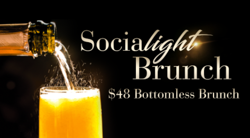 Socialite Brunch every Saturday