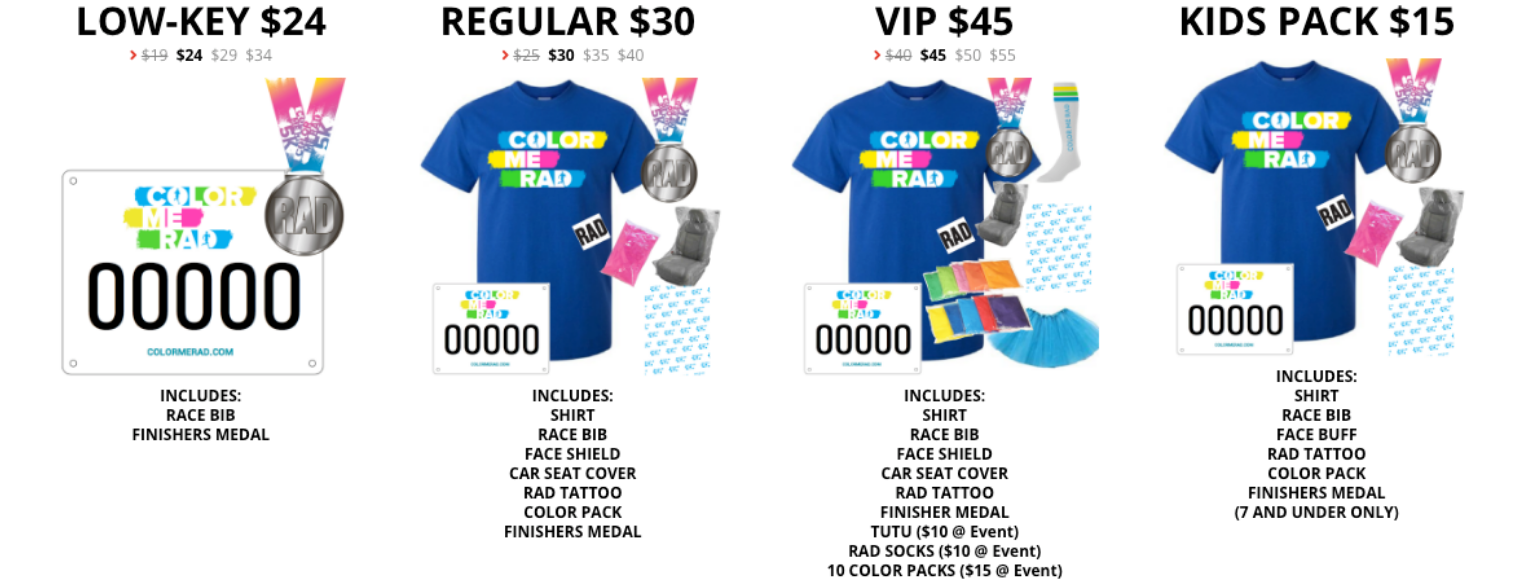 Color Me Rad Pittsburgh 2020