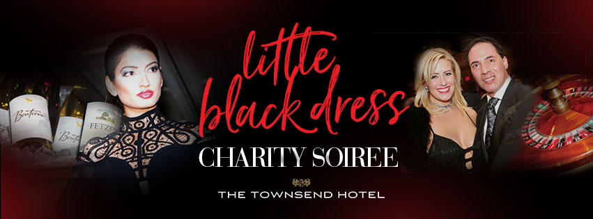 Little Black Dress at the Townsend Hotel 2020