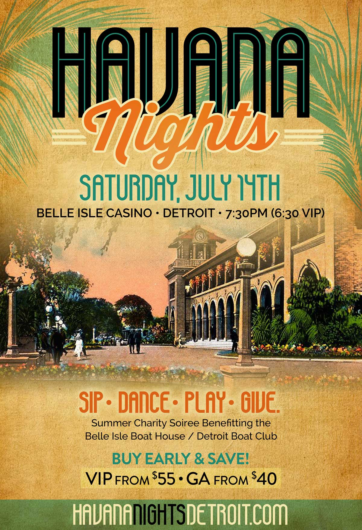 Havana Nights Belle Isle 2018