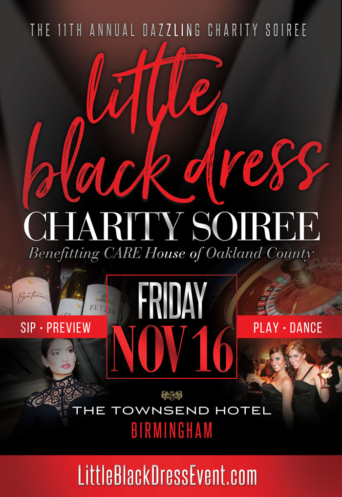 Little Black Dress 2018 - Townsend Hotel