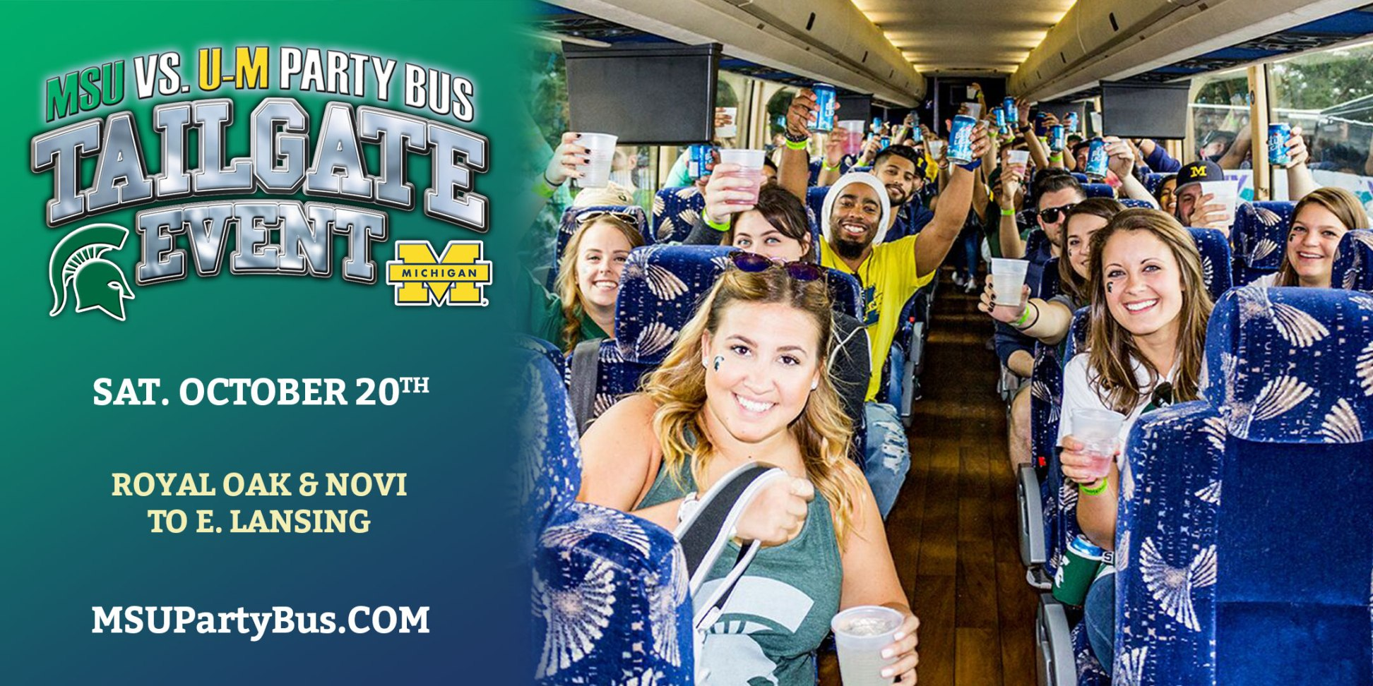 MSU-UM Party Bus 2020
