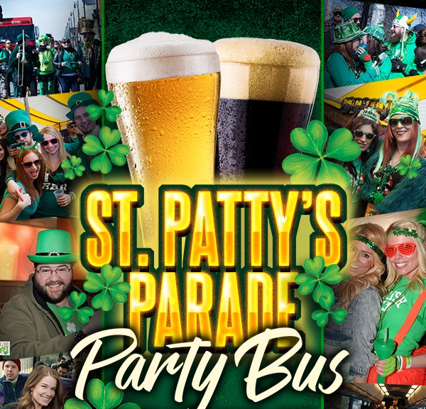 St Patty's Party Bus 2019