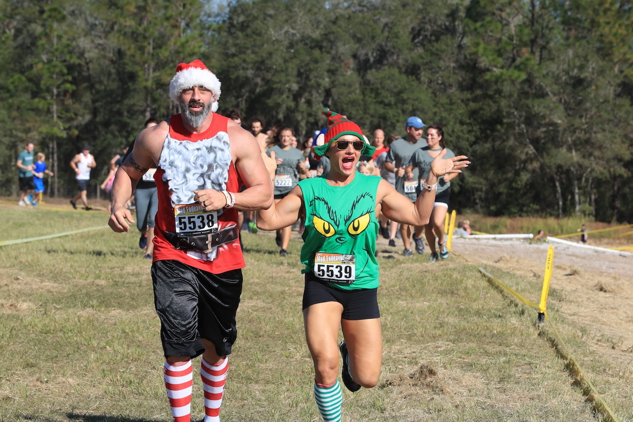 Mud Endeavor - Muddy Santa Run - 12/7/19