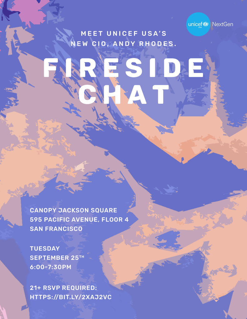 Fireside Chat with Andy Rhodes, UNICEF USA's CIO