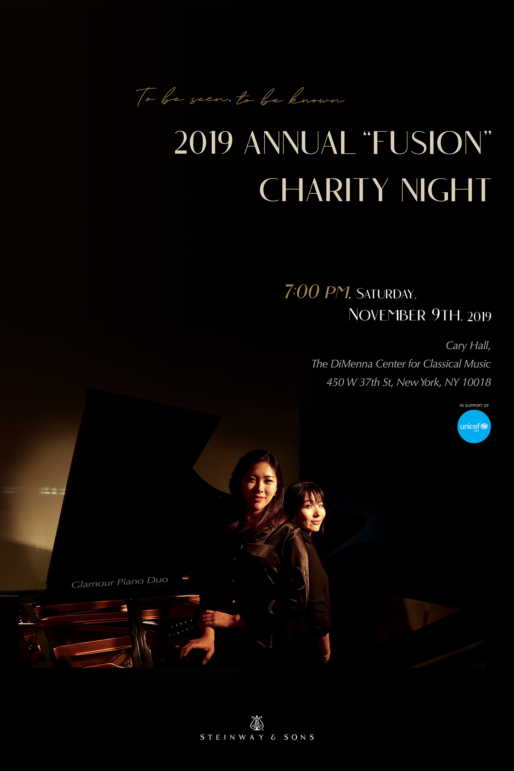 "2019 Annual ""Fusion"" Charity Night"