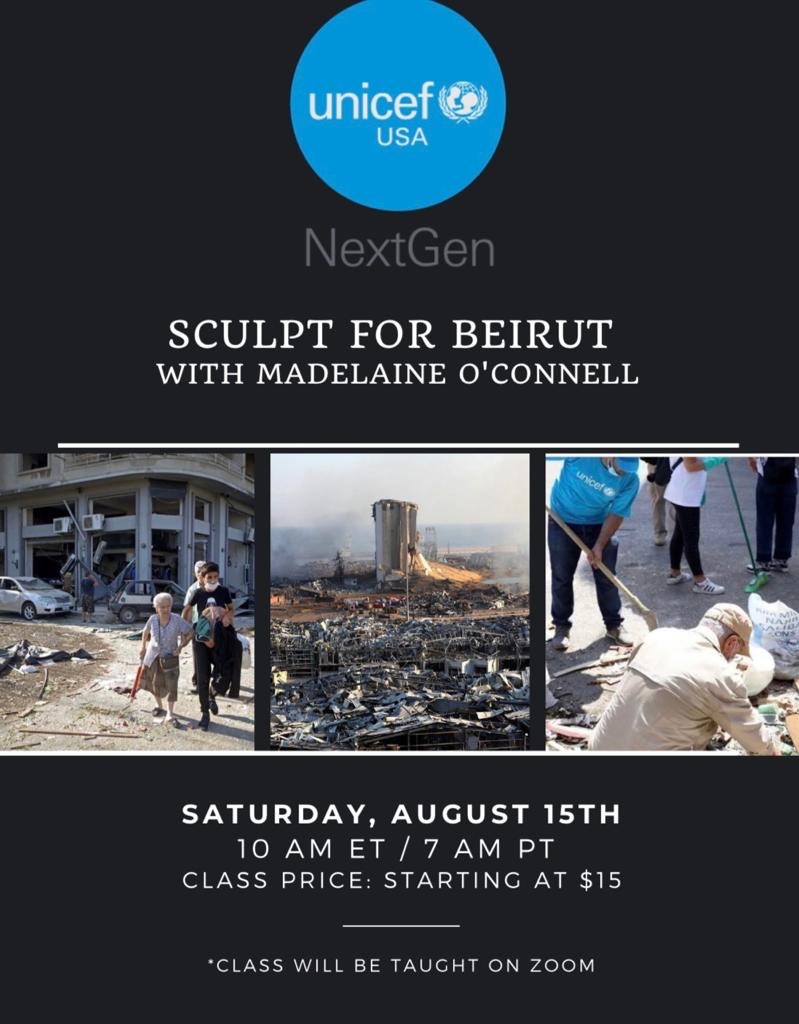 Sculpt for Beirut with Madelaine O'Connell