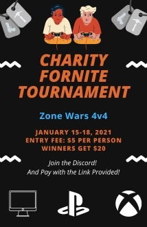 Fortnite Tournament Charity Event