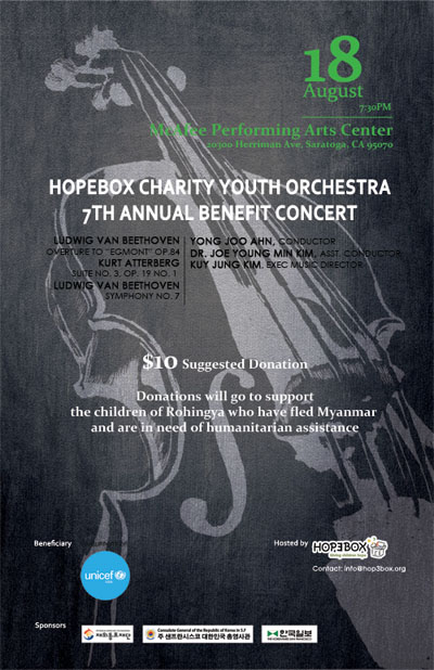 HopeBox Charity Youth Orchestra Annual Benefit Concert