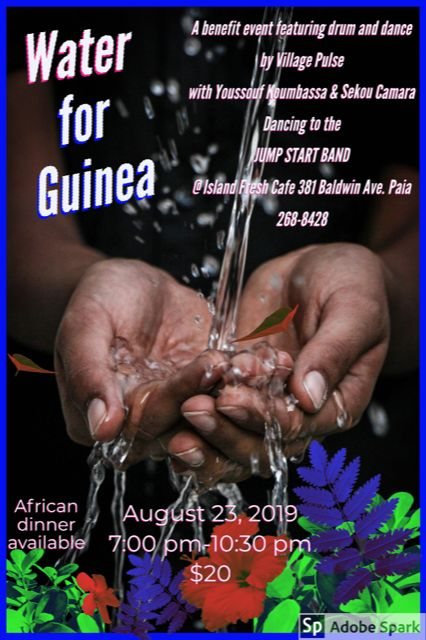 Village Pulse Drum and Dance Hawai'i - Water for Guinea