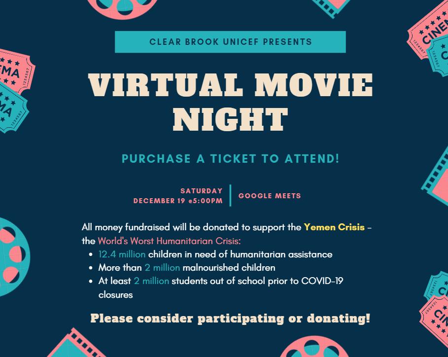 CBHS UNICEF Movie Night