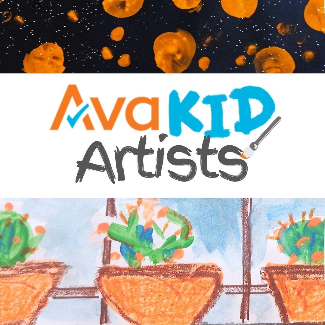 AvaKids Artist Virtual Background