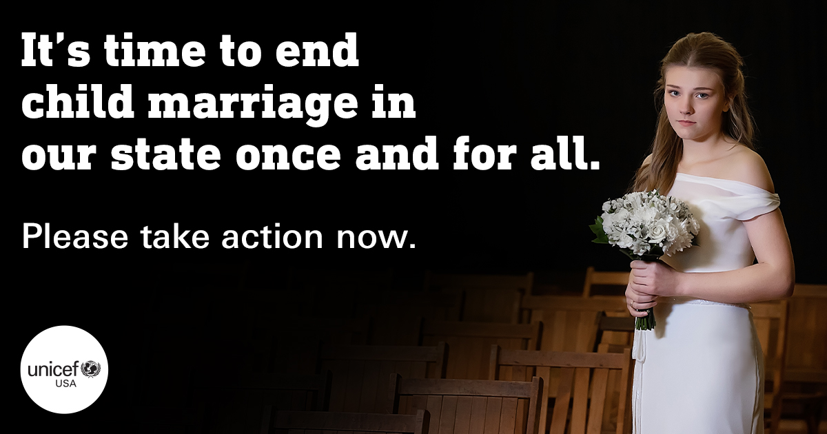 UNICEF UNITE: End Child Marriage in California