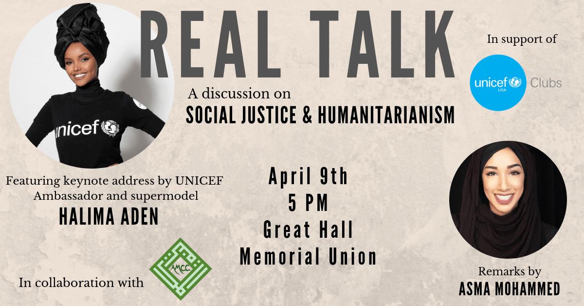 Real Talk - Social Justice and Humanitarianism