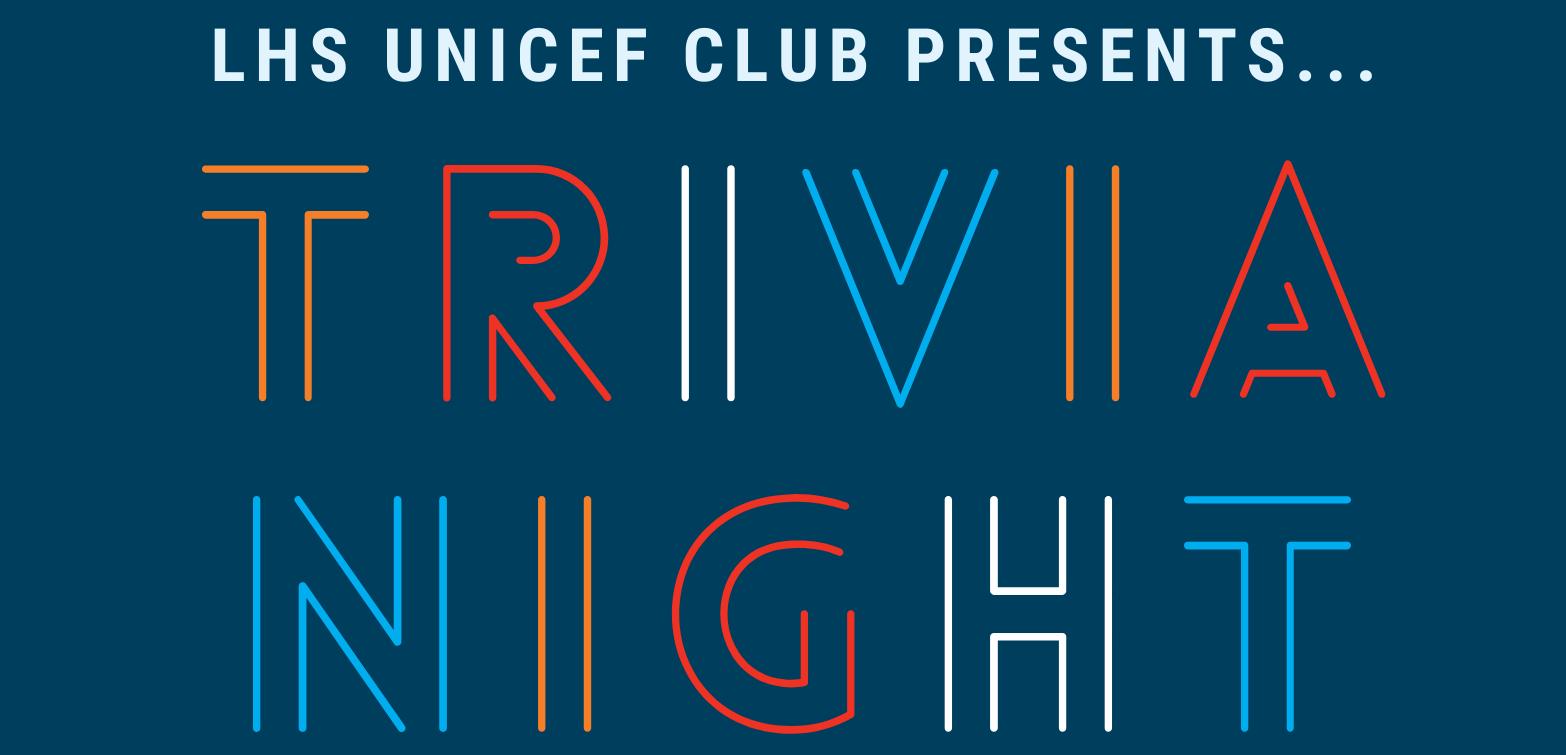 UNICEF Gender Equality Trivia Night