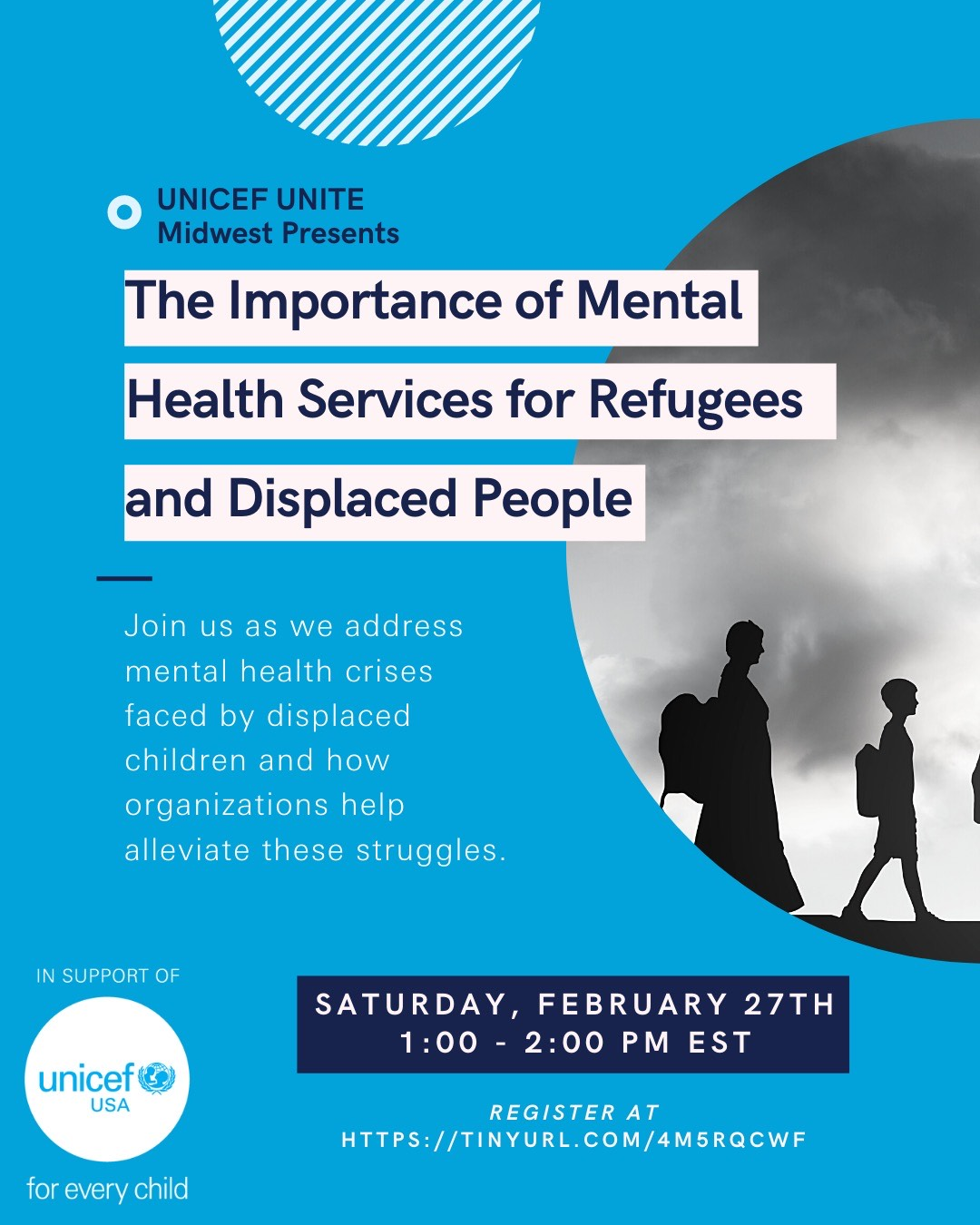 UNICEF UNITE Presents: The Importance of Mental Health Services for Refugees and other Displaced People