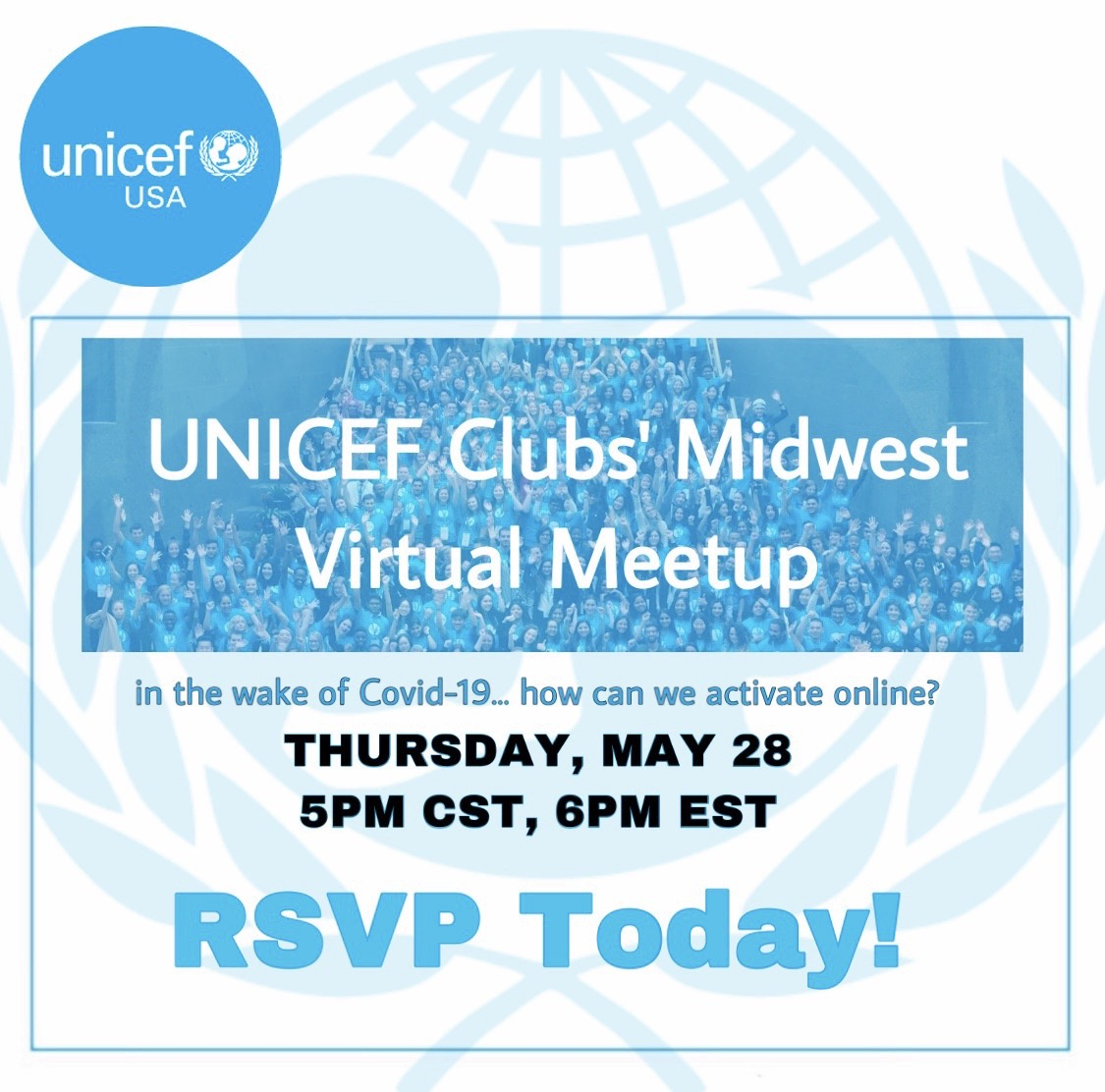 Midwest Clubs' Virtual Meetup