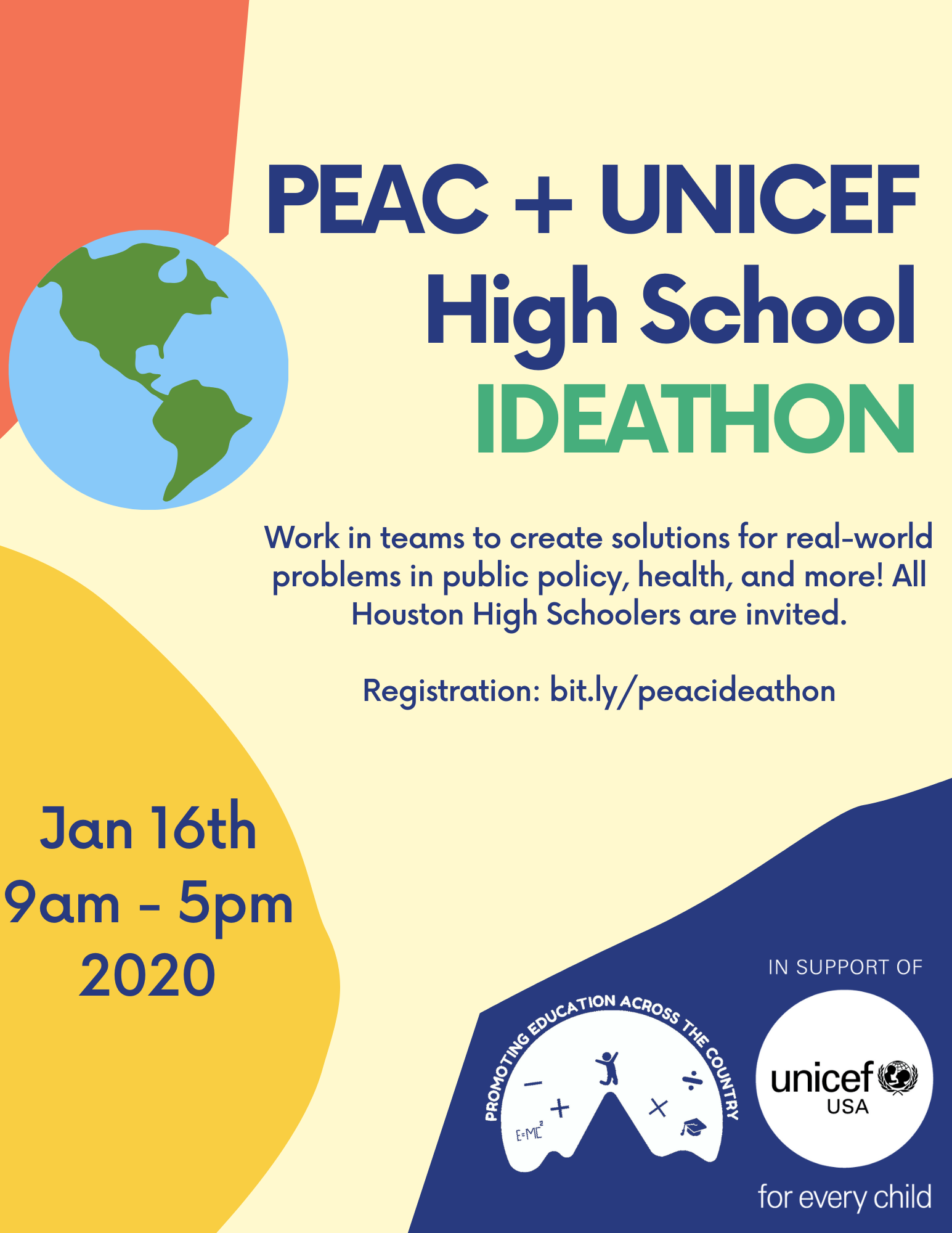 UNICEF PEAC Ideathon Day