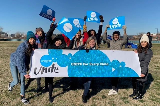 HerStory 5K UNICEF UNITE Team