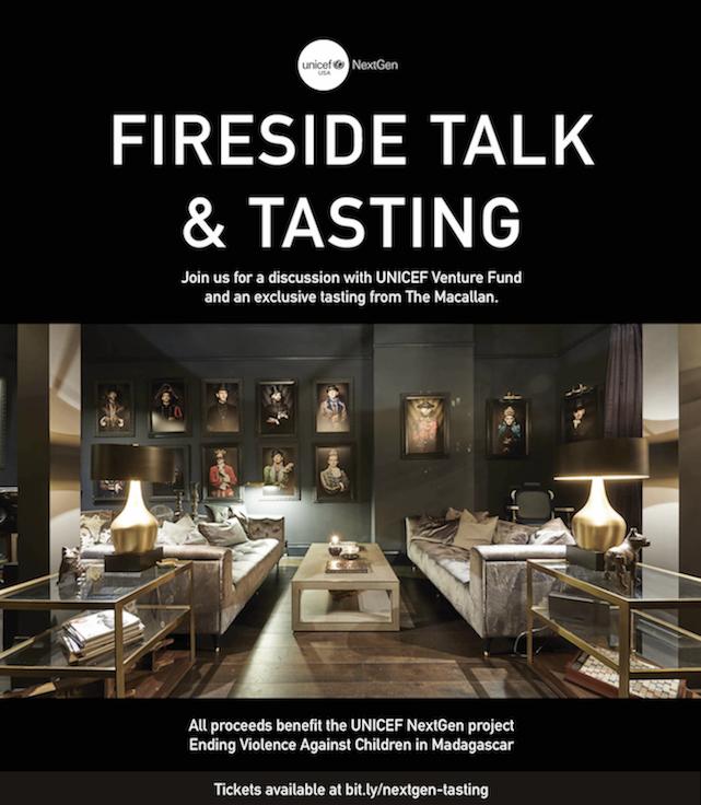 UNICEF NextGen: Fireside Talk + Tasting