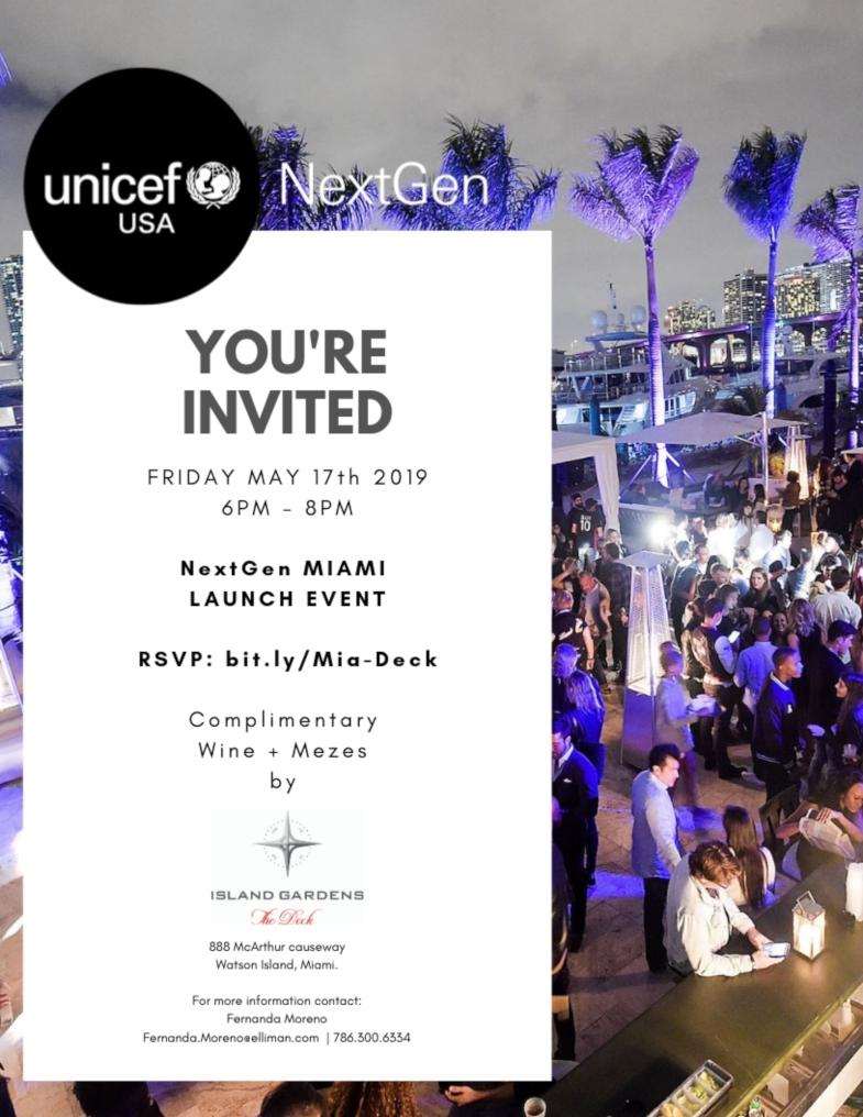 NextGen Launch @ the Deck at Island Gardens