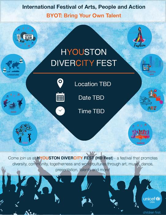 HYOUston DiverCITY Fest by UNICEF