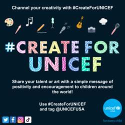 #CreateForUNICEF Virtual Fest (a.k.a HYOUston DiverCITY Fest by UNICEF)