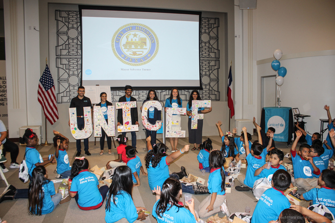 Global Citizenship with UNICEF USA and the Houston Community: Tools and Resources for Professional and Personal Growth