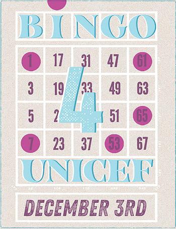 Bingo for UNICEF at Hamburger Mary's