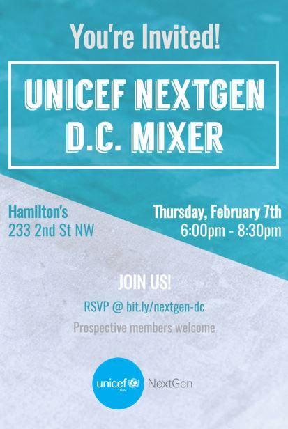 UNICEF NextGen D.C. Mixer