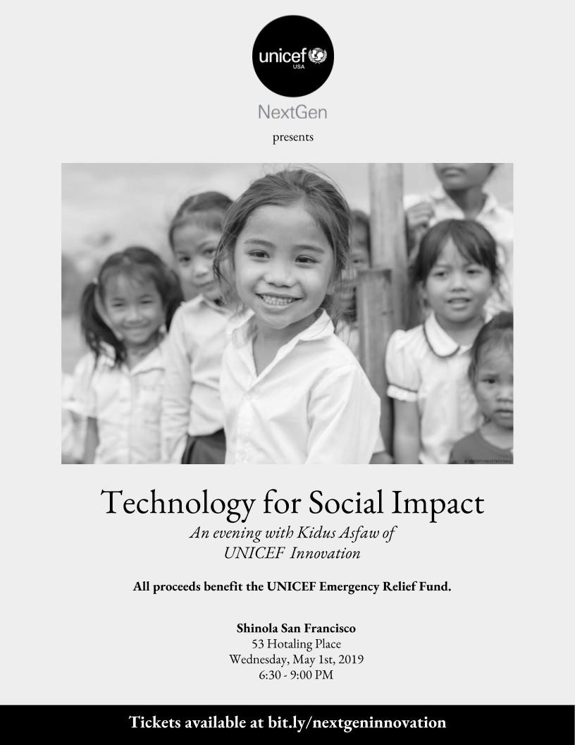 NextGen Presents: Technology for Social Impact