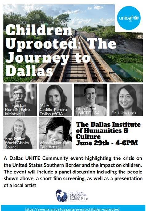 Children Uprooted: The Journey to Dallas